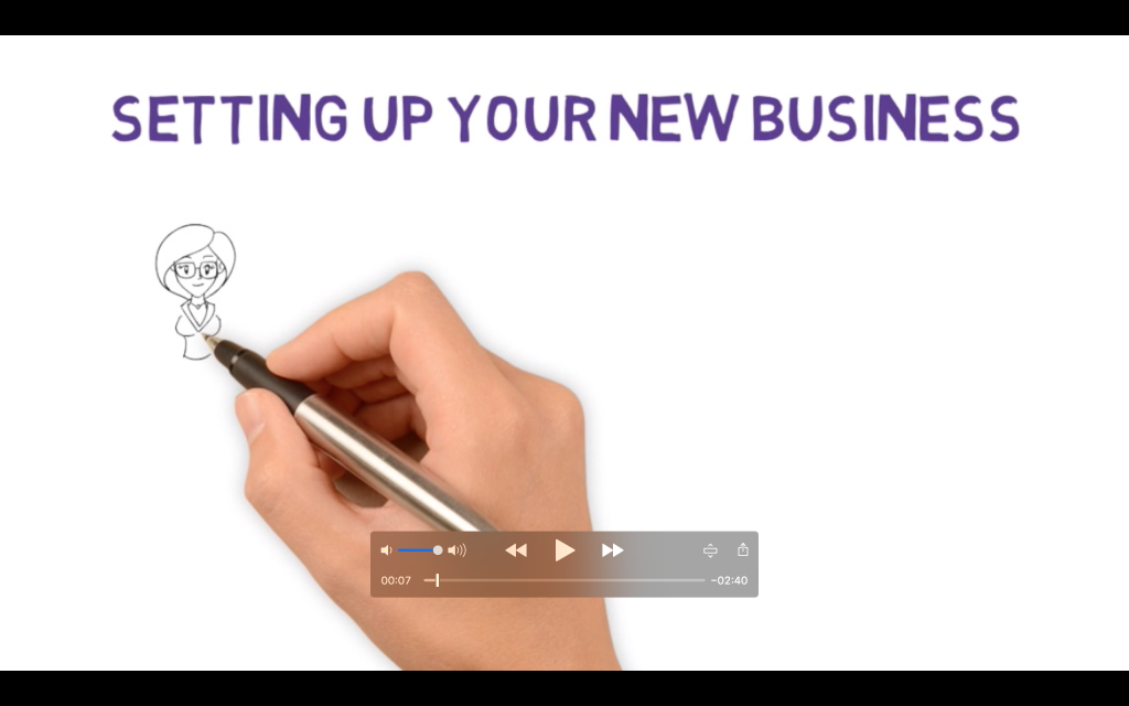 Setting up your new business
