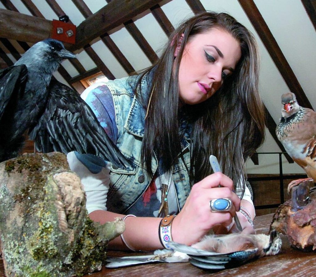 Get stuffed! Herefordshire woman's unusual career choice